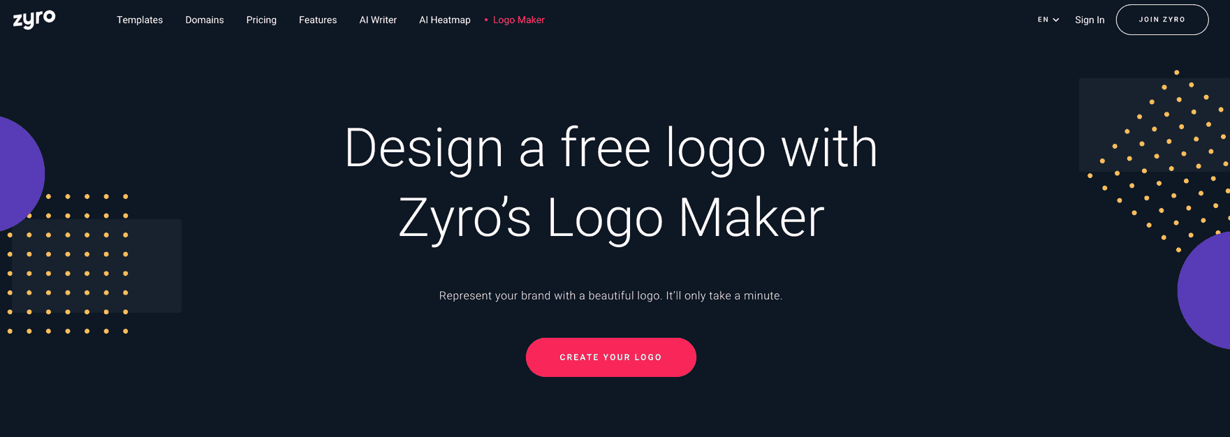 zyro content marketing example