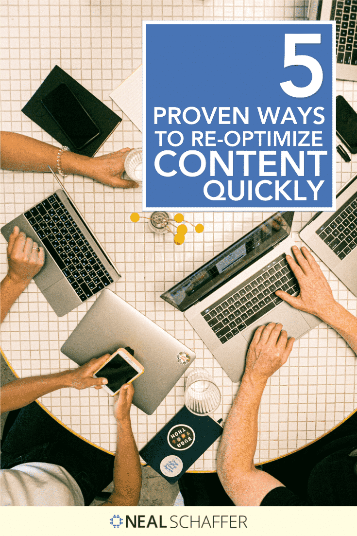 Here are 5 proven ways to help with you content optimization, which will help you increase organic traffic, improve rankings, and gain more conversions.