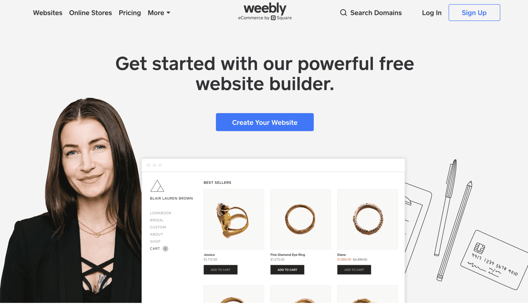weebly CMS
