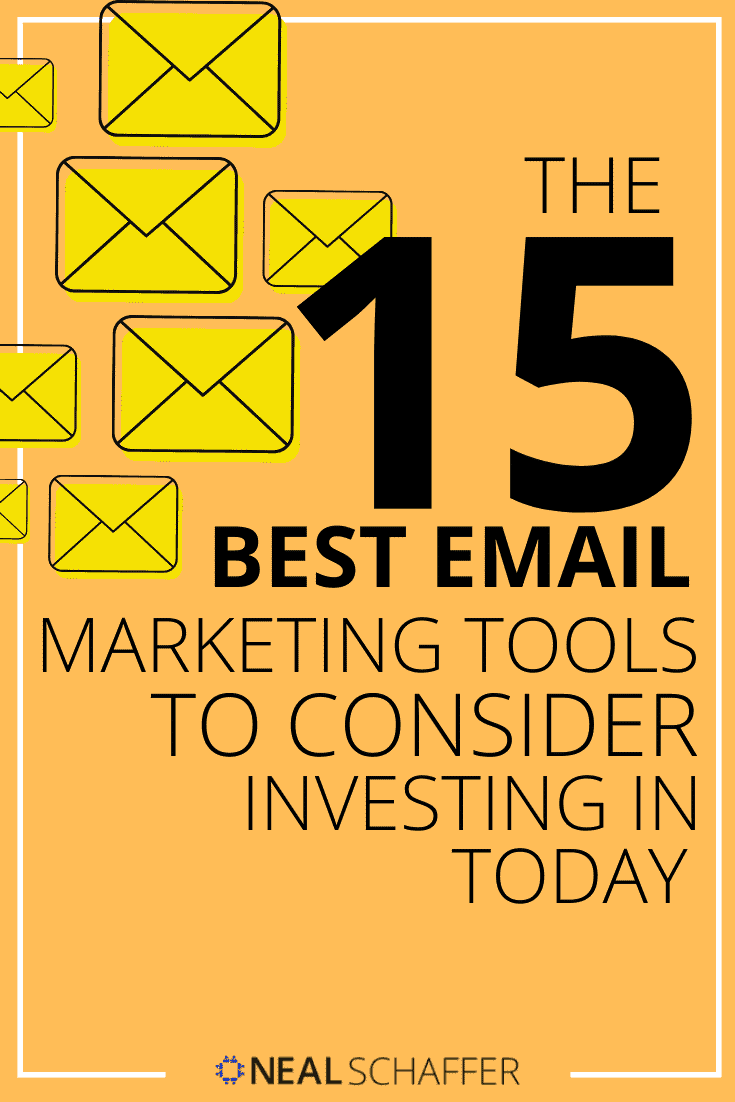 Choosing the right email marketing tool is not easy. This article will help you choose the best solution from the best 15 email marketing tools that exist.