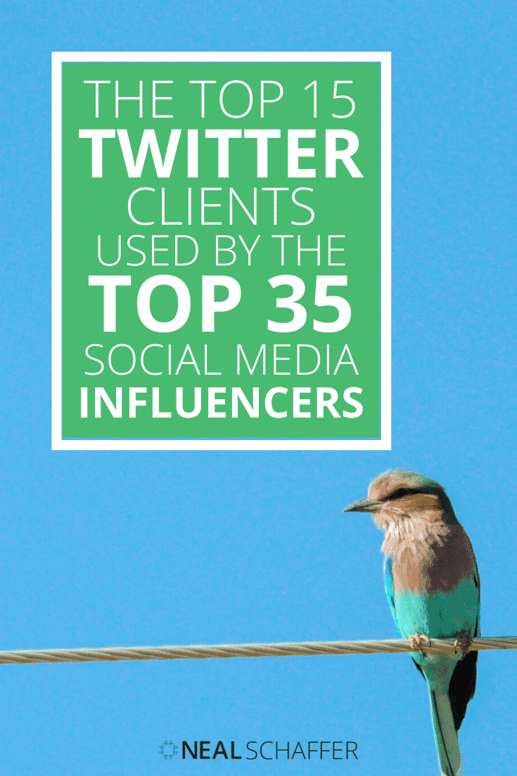 Here are the 15 best Twitter clients used by social media influencers. If you're looking for a Twitter client to try out, you've come to the right place!