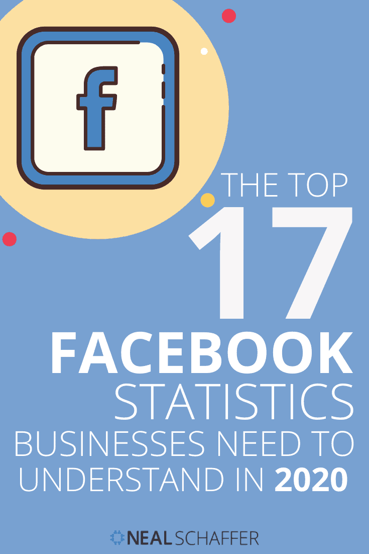 Here are the 17 definitive Facebook statistics that every business should understand in 2020 to empower their social media marketing strategy.