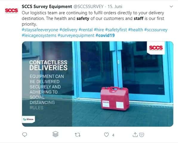 SCCS Survey Equipment safety measurements video