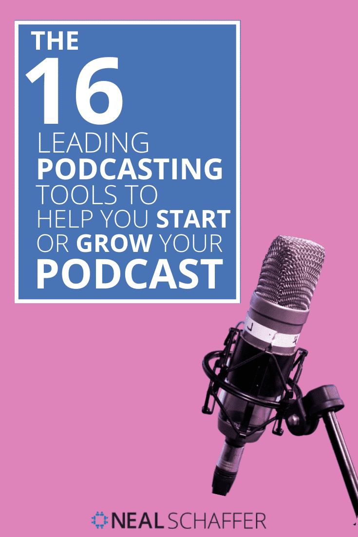 Trying to launch or find tools to help grow your podcast? Here's my list of the 16 leading podcasting tools as well as my experience using them.