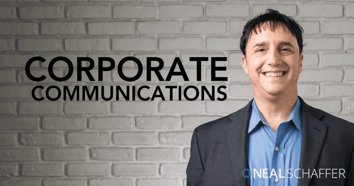 A Guide to Corporate Communications through Social Media and Content