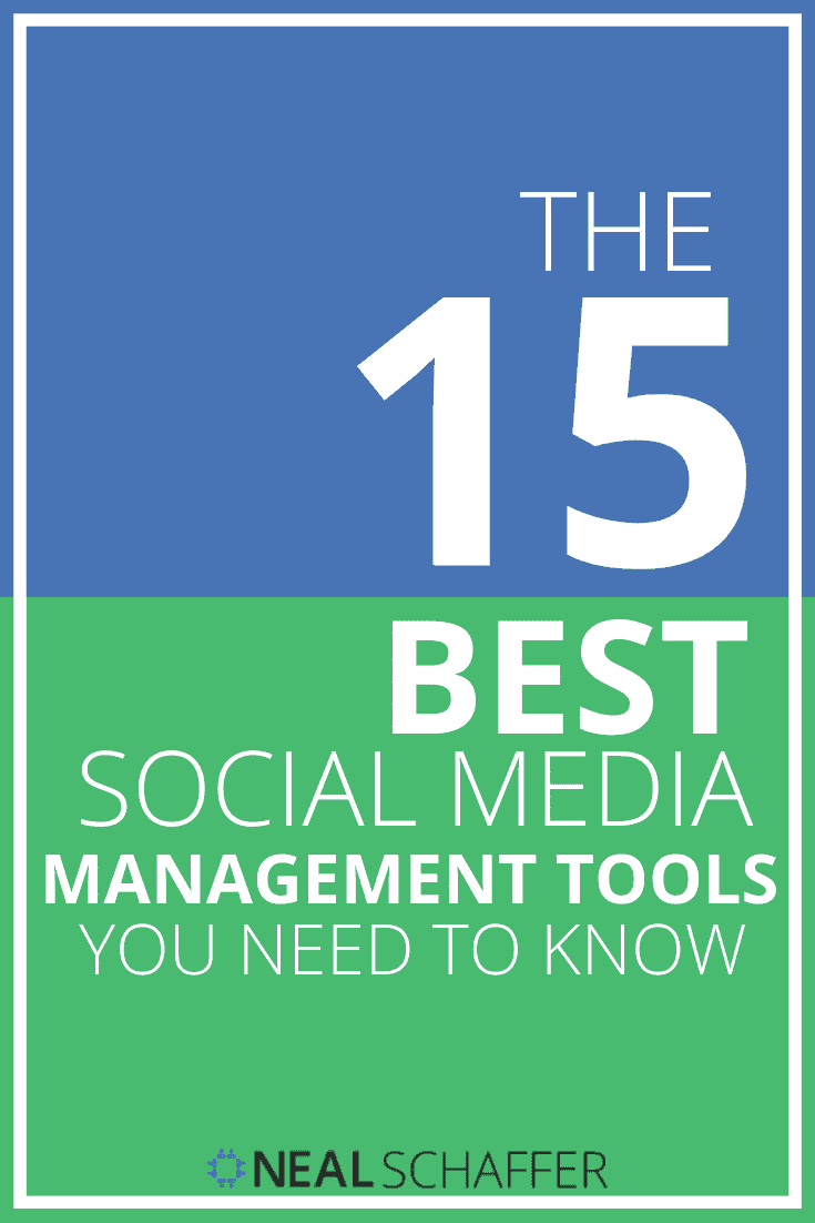 Here are the 15 best social media management tools that you need to consider whether you are looking for a new tool or auditing the competition.