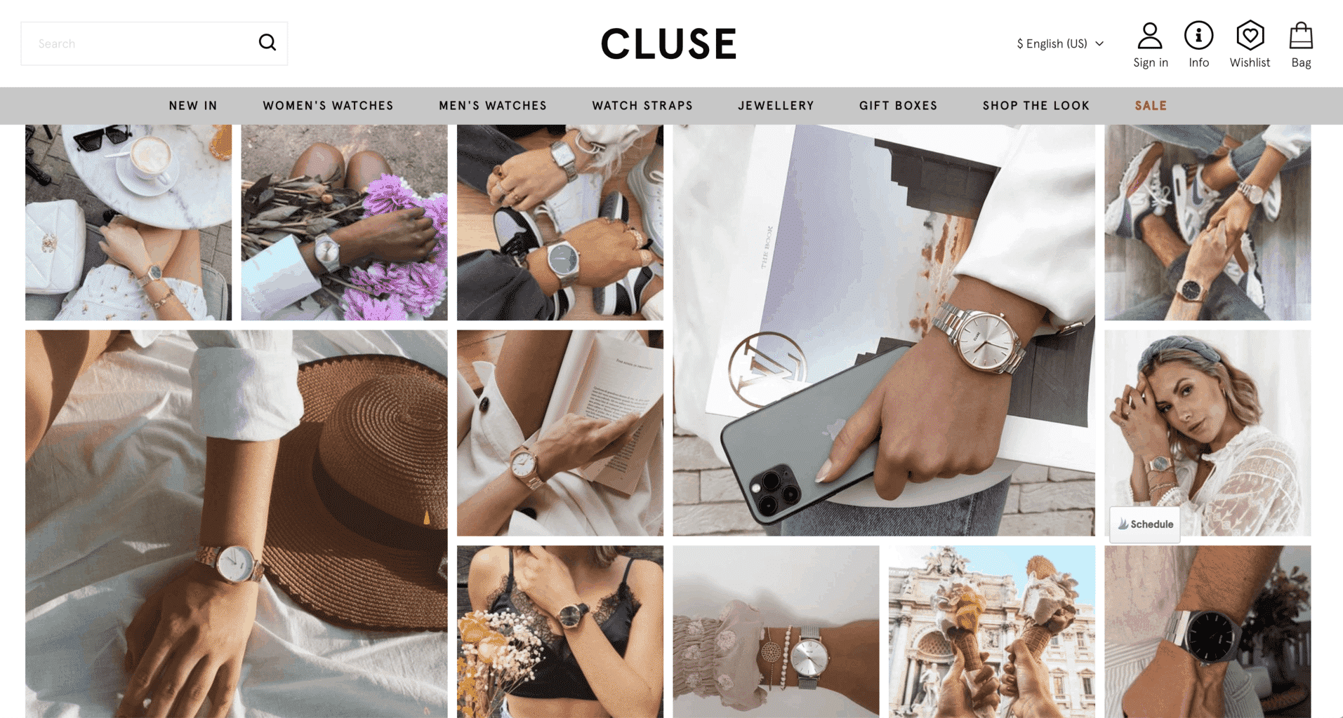 Cluse watch user generated content UGC 6X influencer marketing case study