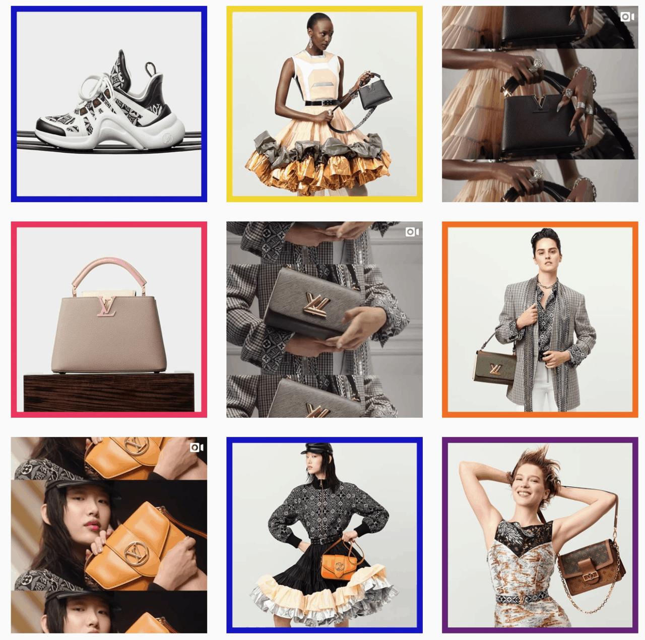 Yves Saint Laurent Instagram shopping example