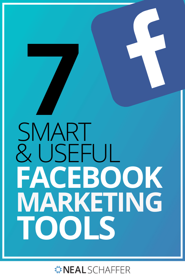 Facebook is still the king of social media, but algorithm changes challenge us. Don't work harder - work smarter with these 7 Facebook marketing tools.