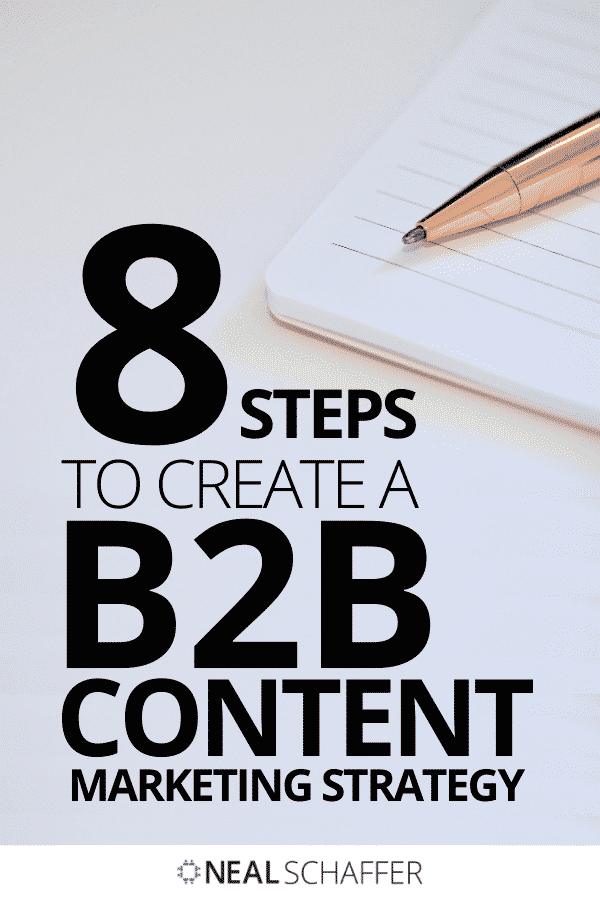 Let me help you create a robust B2B content marketing strategy just by following the easy-to-implement 8 steps I have outlined for you.