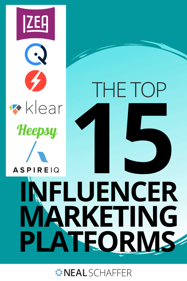Influencer marketing platforms can help you save time and be more effective with influencer marketing. These are the top 15 you should know.
