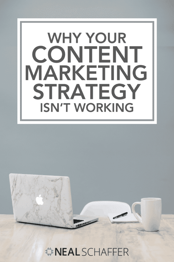 Content marketing strategy not working? Learn why and how to fix it. Includes advice on planning, content, goals, amplification and more.