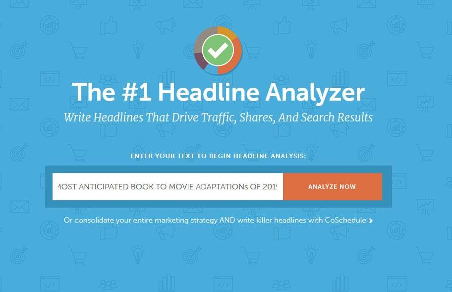 herramienta de análisis de titulares