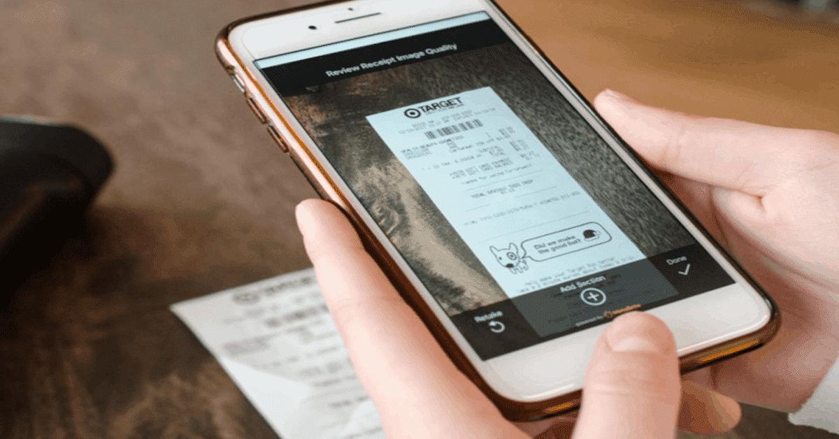 receipt scan technology