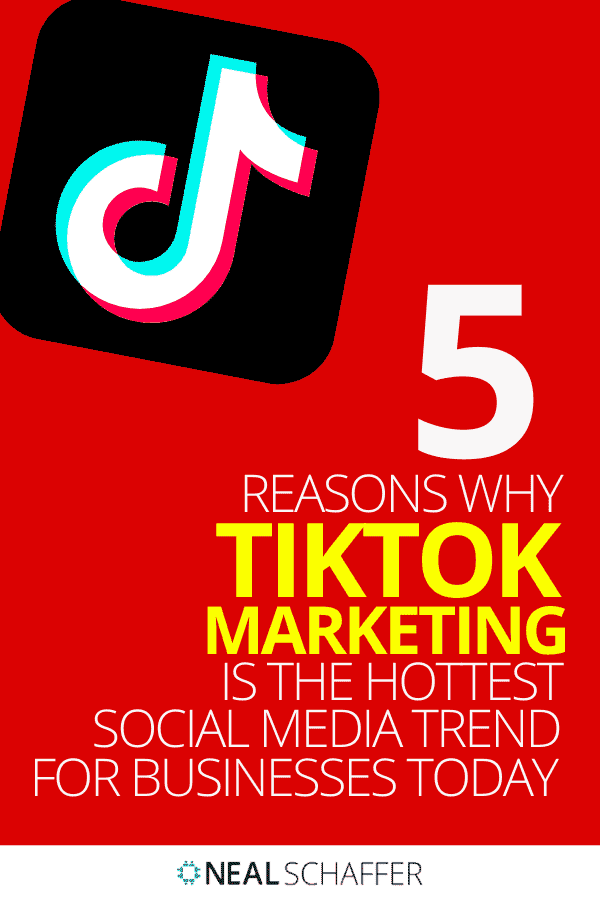 If your business isn't on TikTok you're seriously missing out. Here's 5 reasons why TikTok marketing is the hottest ticket.