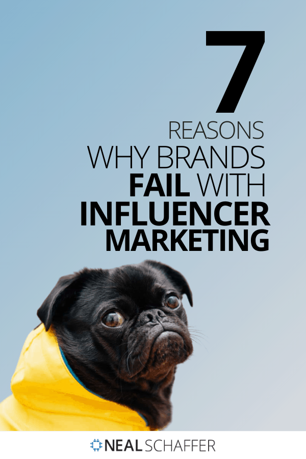 If you're looking to start or improve your influencers, you should first understand why brands fail with influencer marketing and learn from their mistakes.