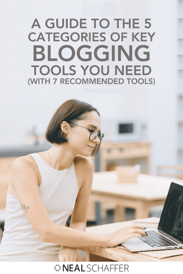 I'm going to give you all the instruments you need to turn your blog into an effective, brand-building machine through these 7 best blogging tools.