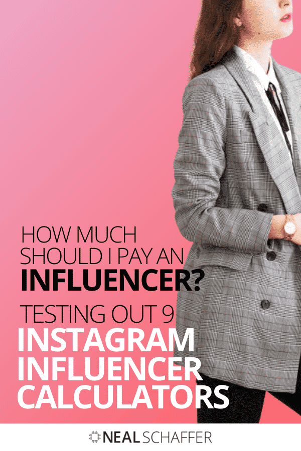 How much should you pay an influencer? I tested 9 Instagram influencer calculators to see what they recommended. The results are surprising!