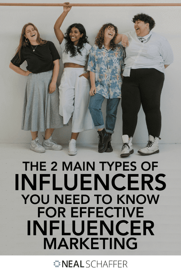 If you want to do effective influencer marketing, you need to understand the 2 types - and 9 sub-types - of influencers that exist.