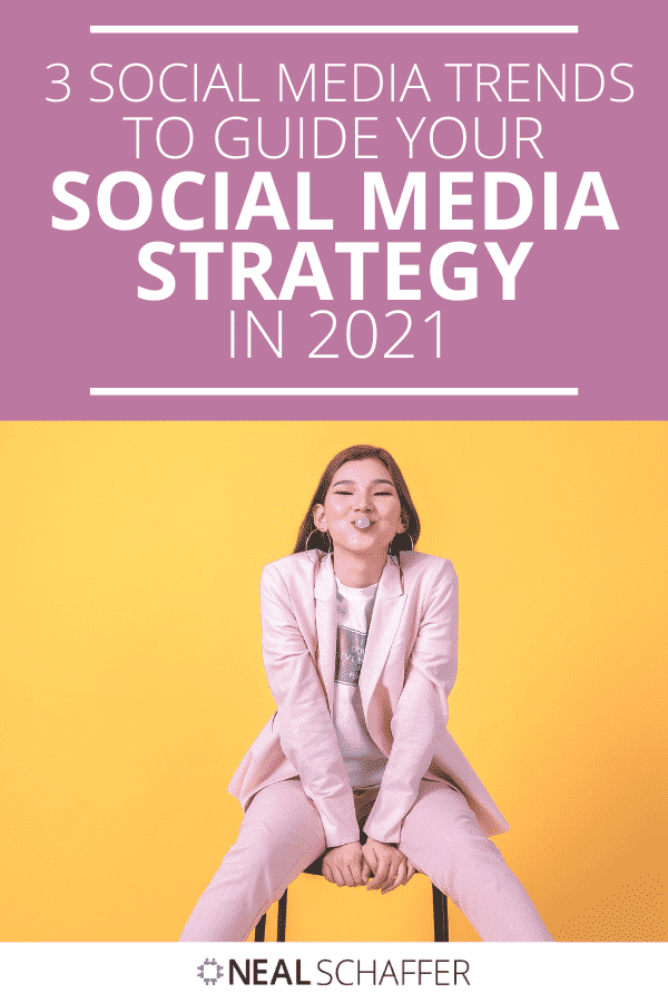 Trying to figure out your social media strategy for 2021? You'll want to deeply understand these 3 social media trends and how to leverage them.