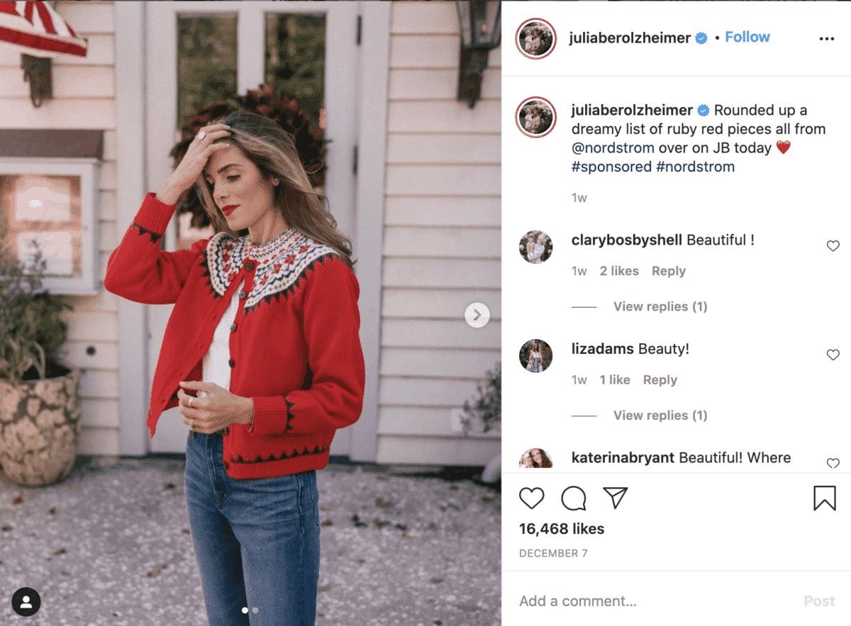 Julia Berolzheimer instagram fashion influencer