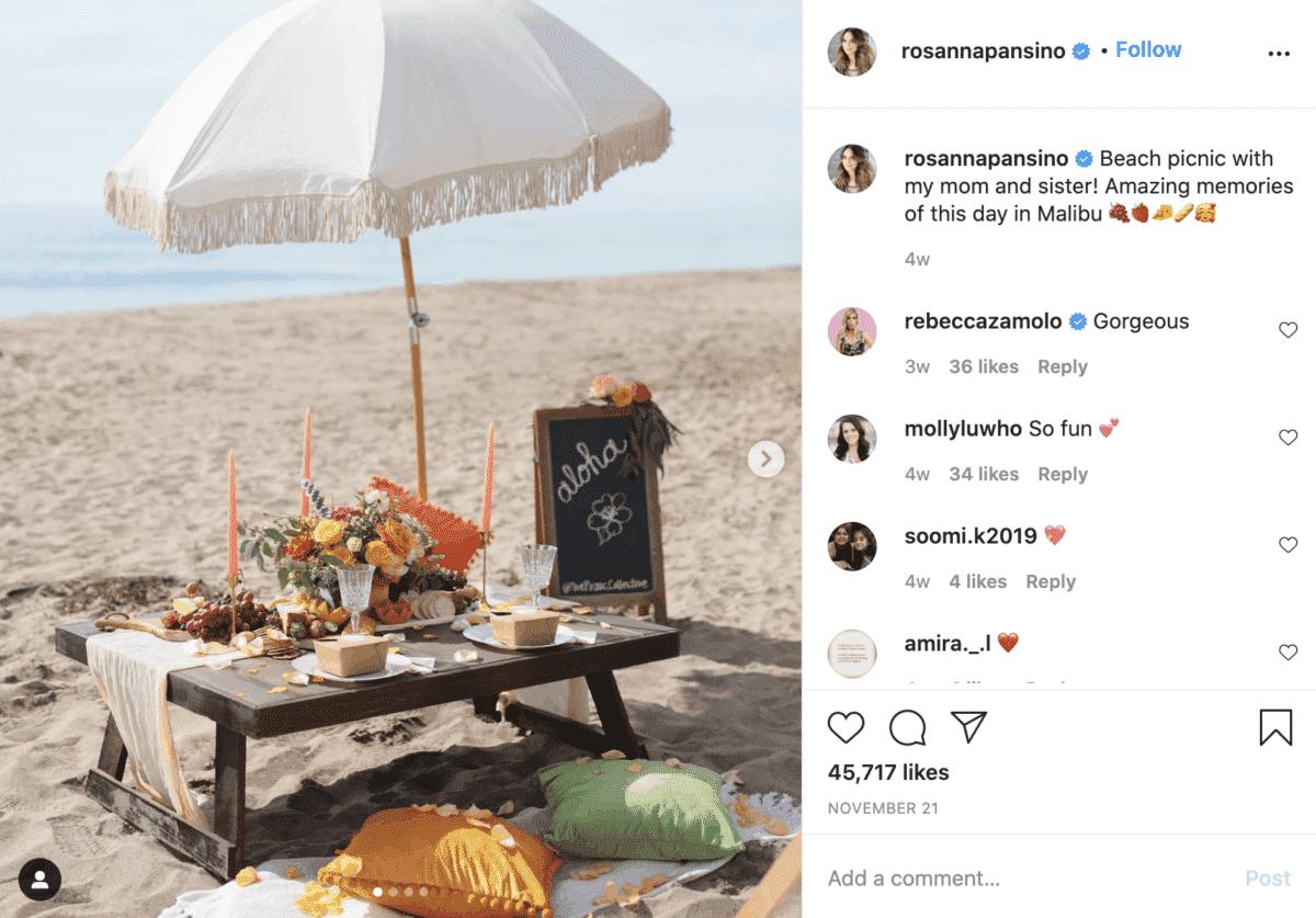 rosanna pansino instagram lifestyle influencer