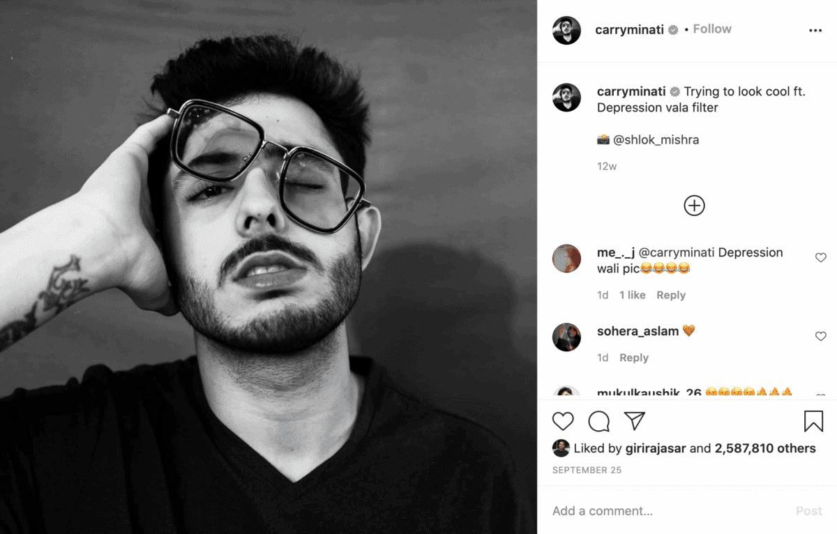 Ajey Nager Youtuber on Instagram