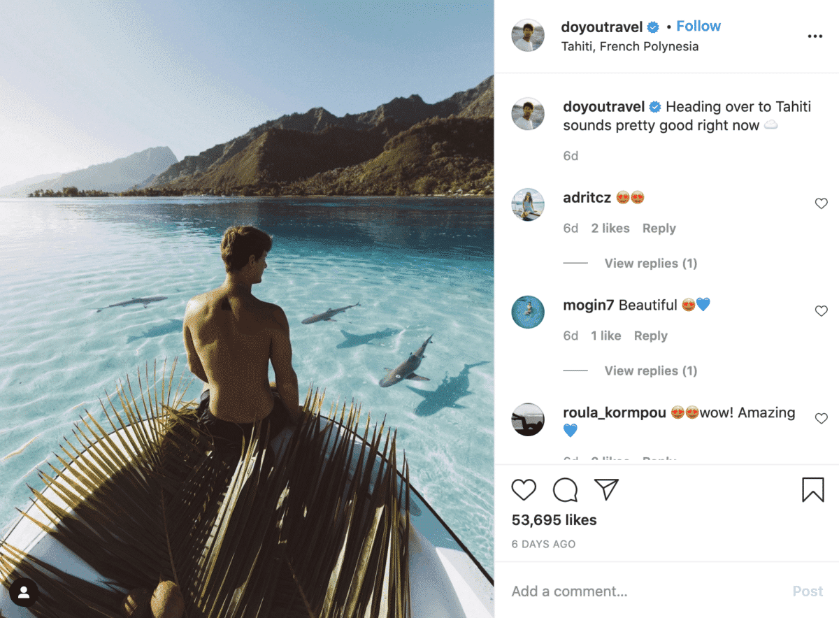 jack morris @doyoutravel instagram travel influencer