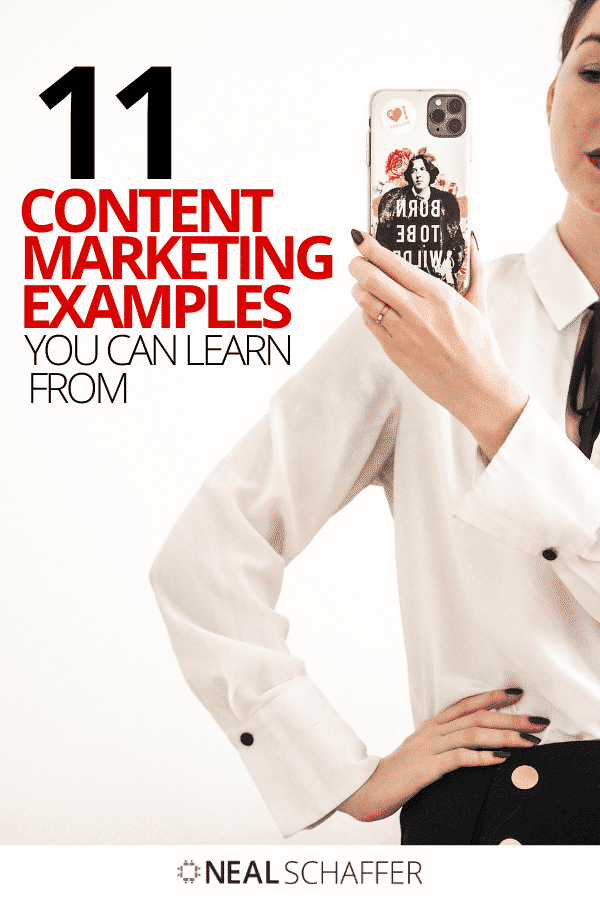 Looking for content marketing examples to up your game? Check out these 11 specific examples and what you should learn from them.