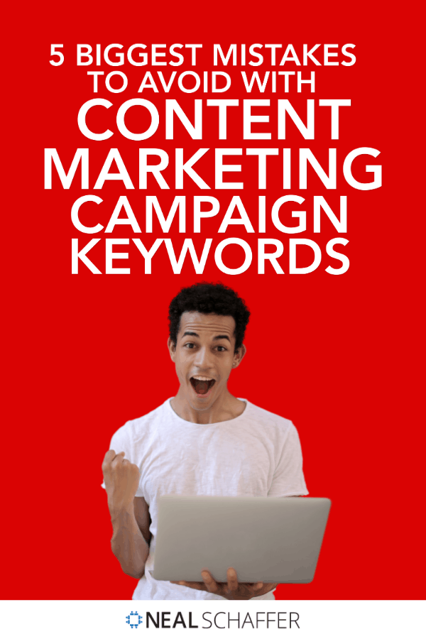 Before you launch your next content marketing campaign, make sure you read this and don't make any of these 5 mistakes in your campaign.