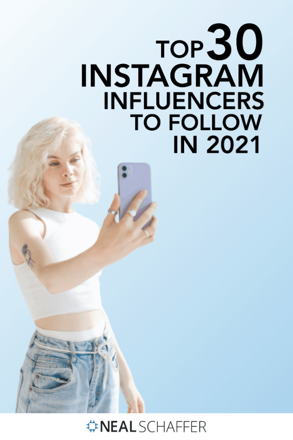 Trying to up your influencer game? Looking for inspiration for content or influencer marketing? Check out these top Instagram influencers!