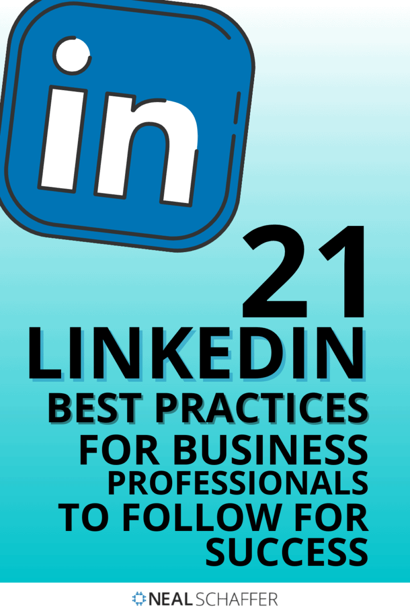 Trying to make progress on your LinkedIn sales and marketing? Learn these 21 LinkedIn best practices and leave your competitors behind!