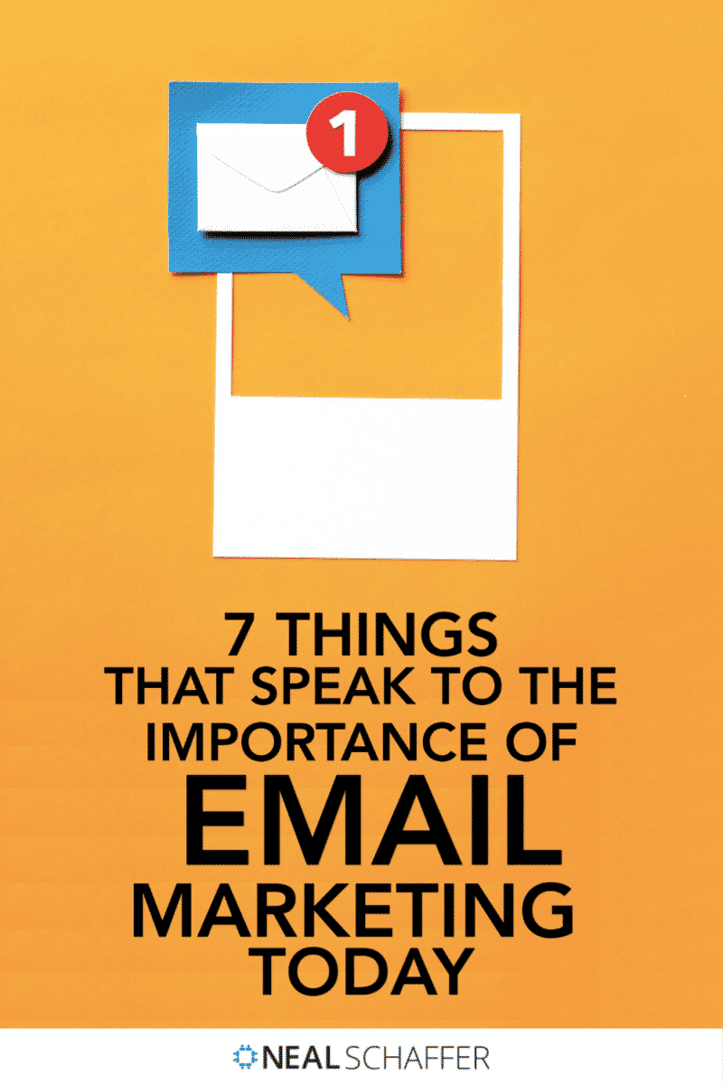 Looking for reasons to invest in email marketing? Even with social media, the importance of email marketing is still great. Here's why.