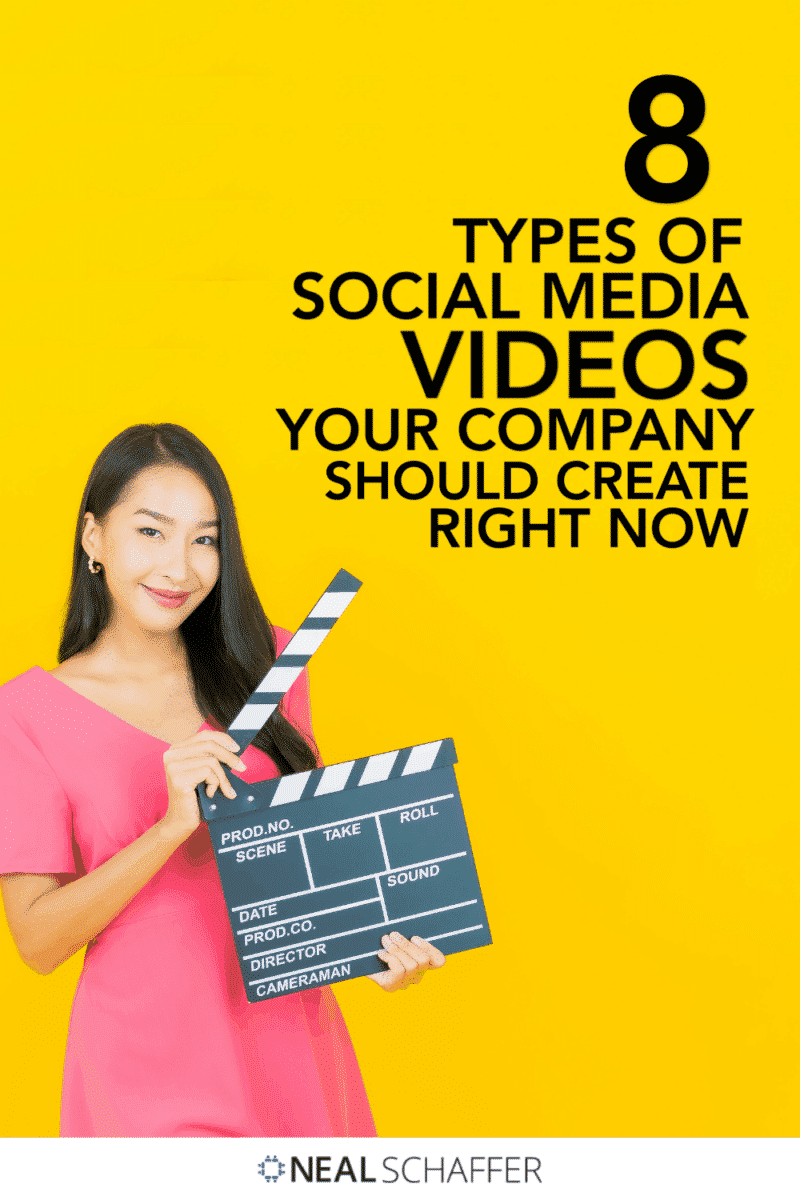 The consumption of social media videos has seen explosive growth in recent years. Here are the key types of videos you should be making.