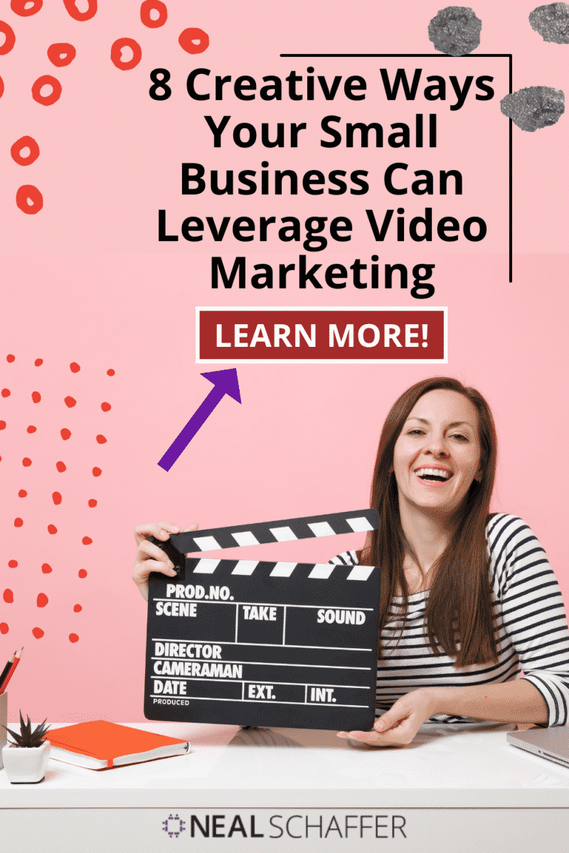 Looking for some creative ways to incorporate more video in your small business video marketing strategy? Here are 8 ideas to try!