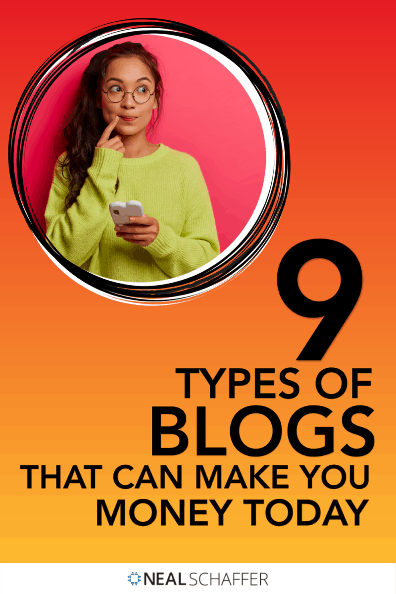 Are you a blogger trying to figure out the types of blogs that make money? Look no further: Here are 9 types to inspire you and other advice!