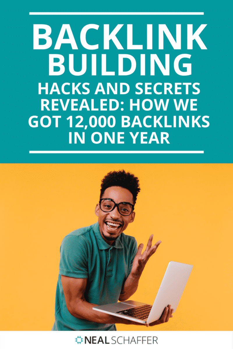An incredible backlink building case study of how one company got 12,000 backlinks in one year. All of their hacks and secrets are revealed.