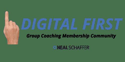 neal schaffer digital first group coaching membership community
