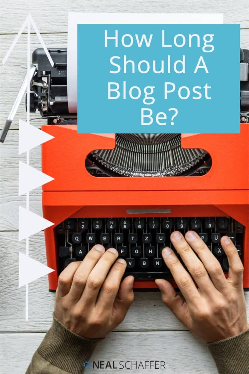 One of the most common questions I get asked about blogging is how long should a blog post be. Here is my answer for every situation.