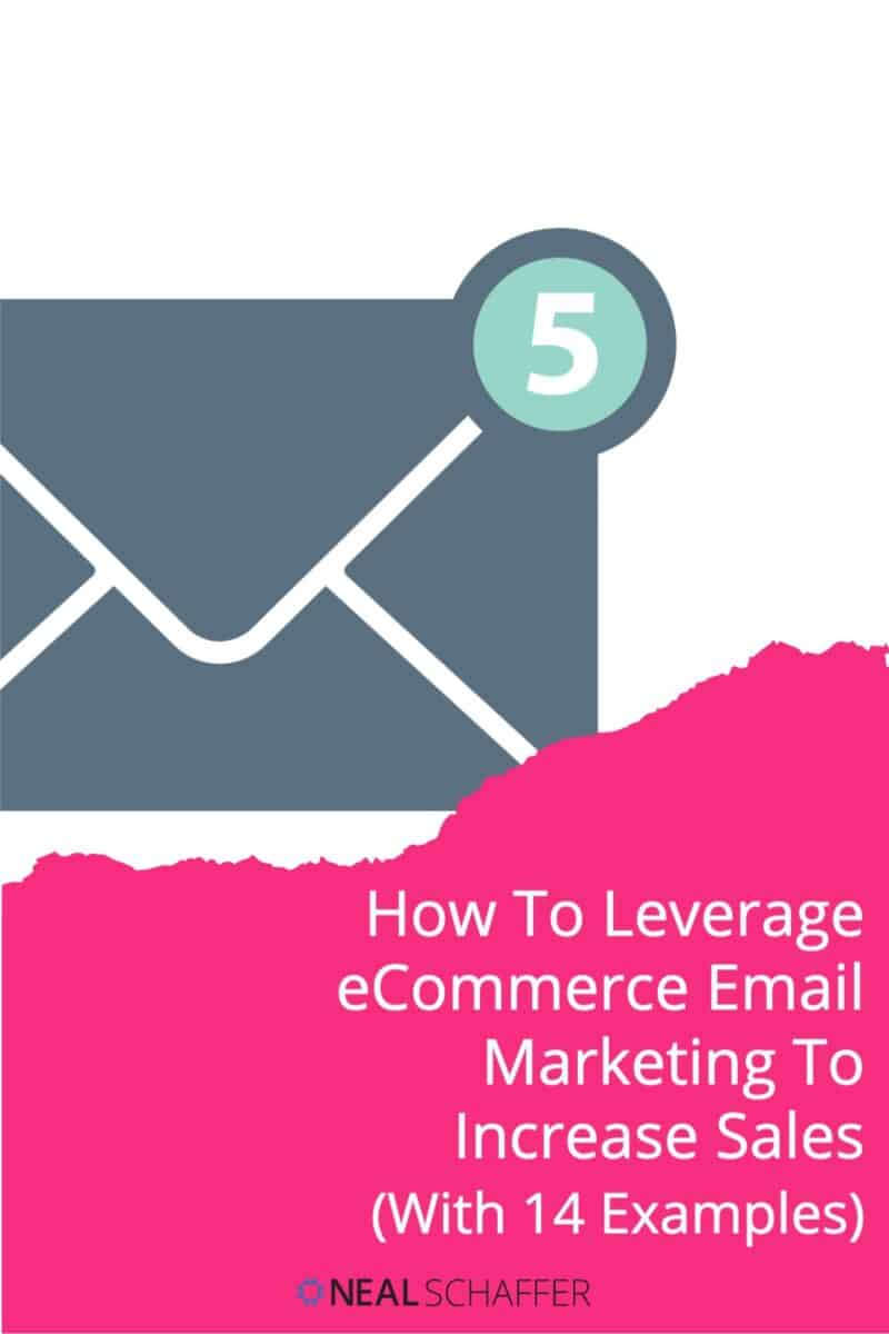 If you run an eCommerce store, here are the reasons why and how to leverage eCommerce email marketing with specific examples.