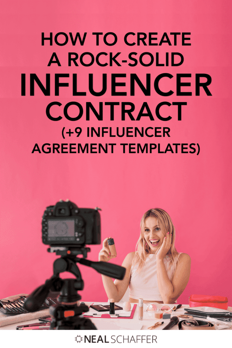 If you're collaborating with influencers you need to have an influencer contract in place. This article will show you all you need to do that