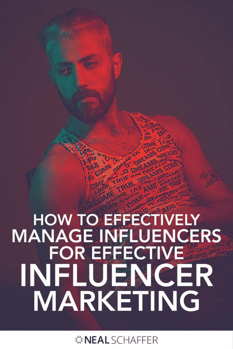 Effective Influencer management = effective influencer marketing. Learn why and how to cultivate influencer relationships to benefit your biz