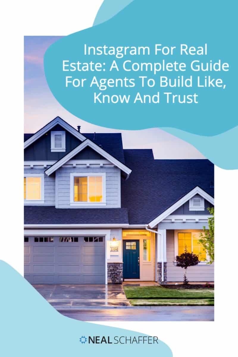 If you're in real estate you need to figure out Instagram - FAST! Here is your complete Instagram for real estate guide for agents.