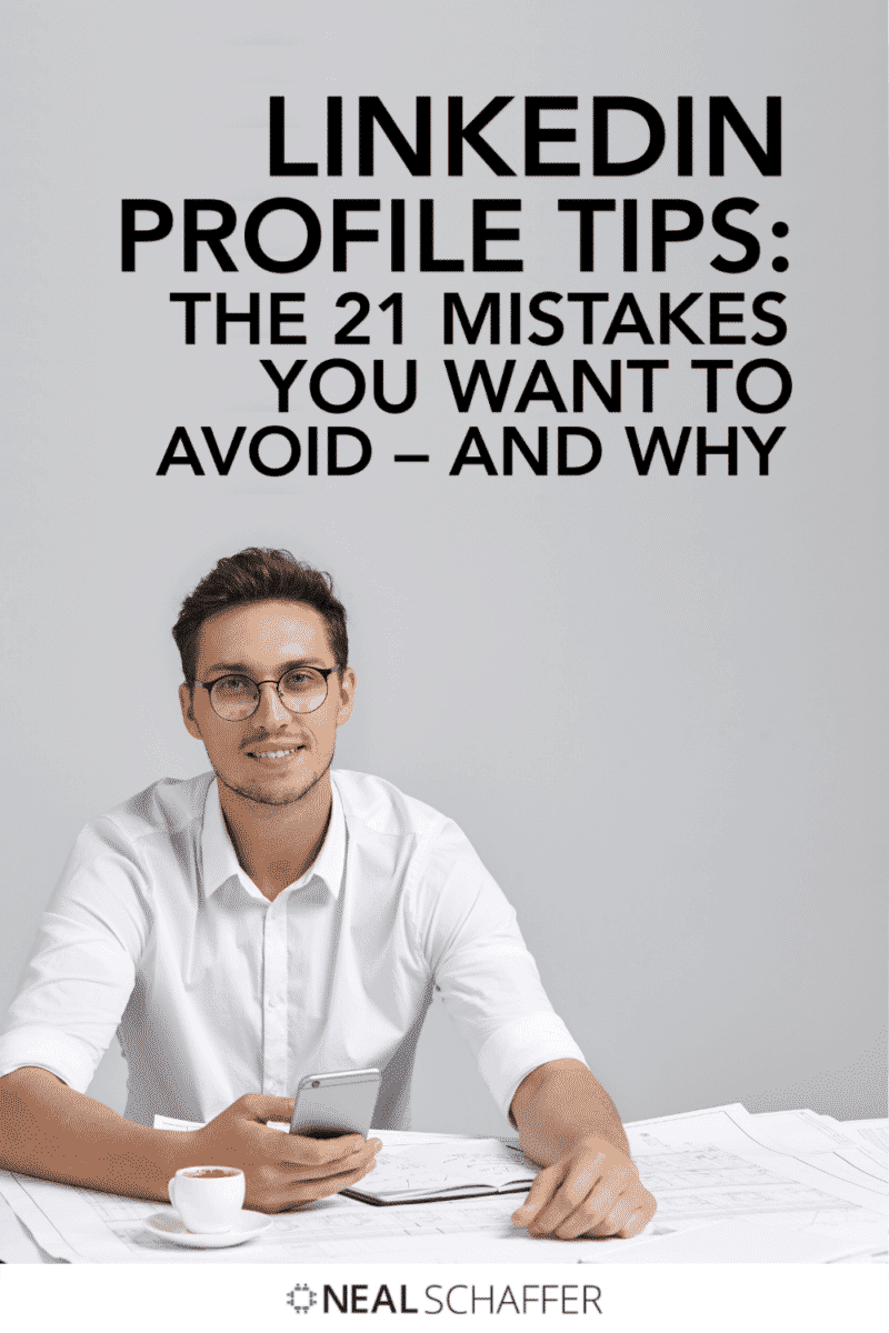 These are the 21 most common mistakes I see people make on their LinkedIn profile. Read on for LinkedIn profile tips you will WANT to use!
