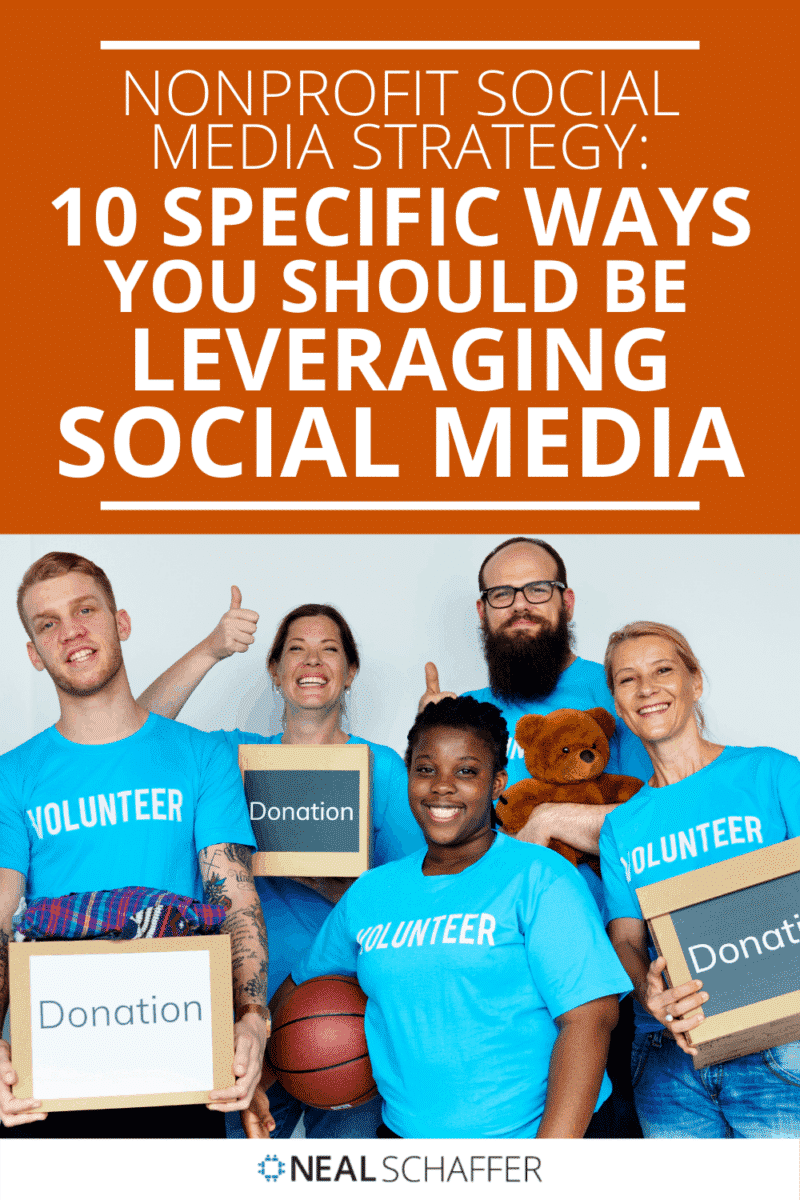 Nonprofit social media strategy is not just about Facebook. Here are 10 different ways nonprofits should be utilizing social media.