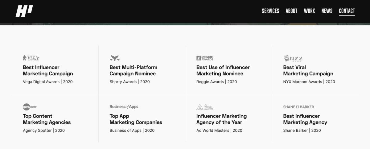 HireInfluence influencer marketing