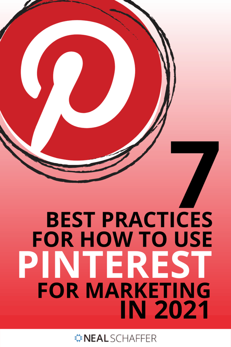 If you're trying to figure out how to use Pinterest for marketing in 2021, you need to first understand these 7 best practices, including ...