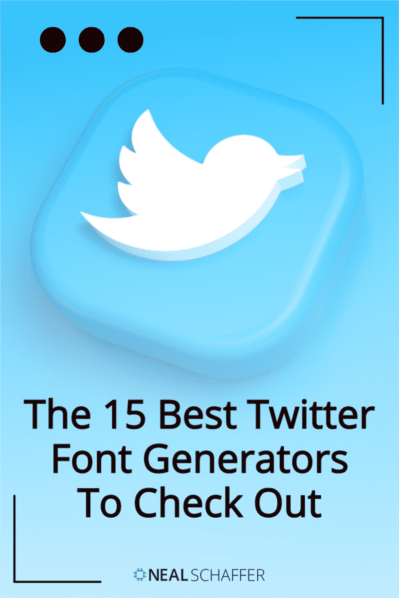 Looking to make a memorable splash on Twitter? Use fancy fonts that aren't on your keyboard using a Twitter font generator. Here's how.
