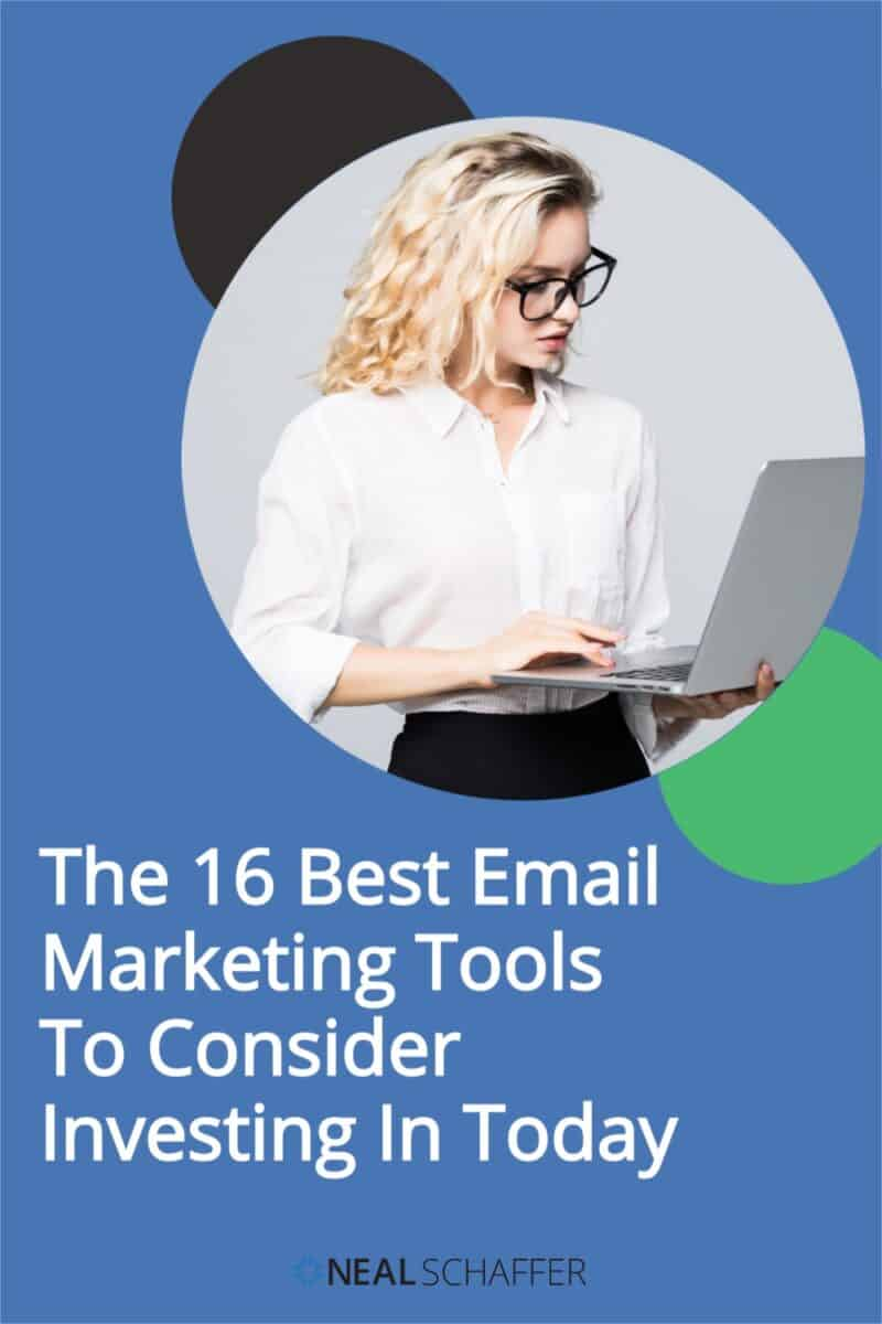 Choosing the right email marketing tool is not easy. This article will help you choose the best solution from the best 16 email marketing tools that exist.