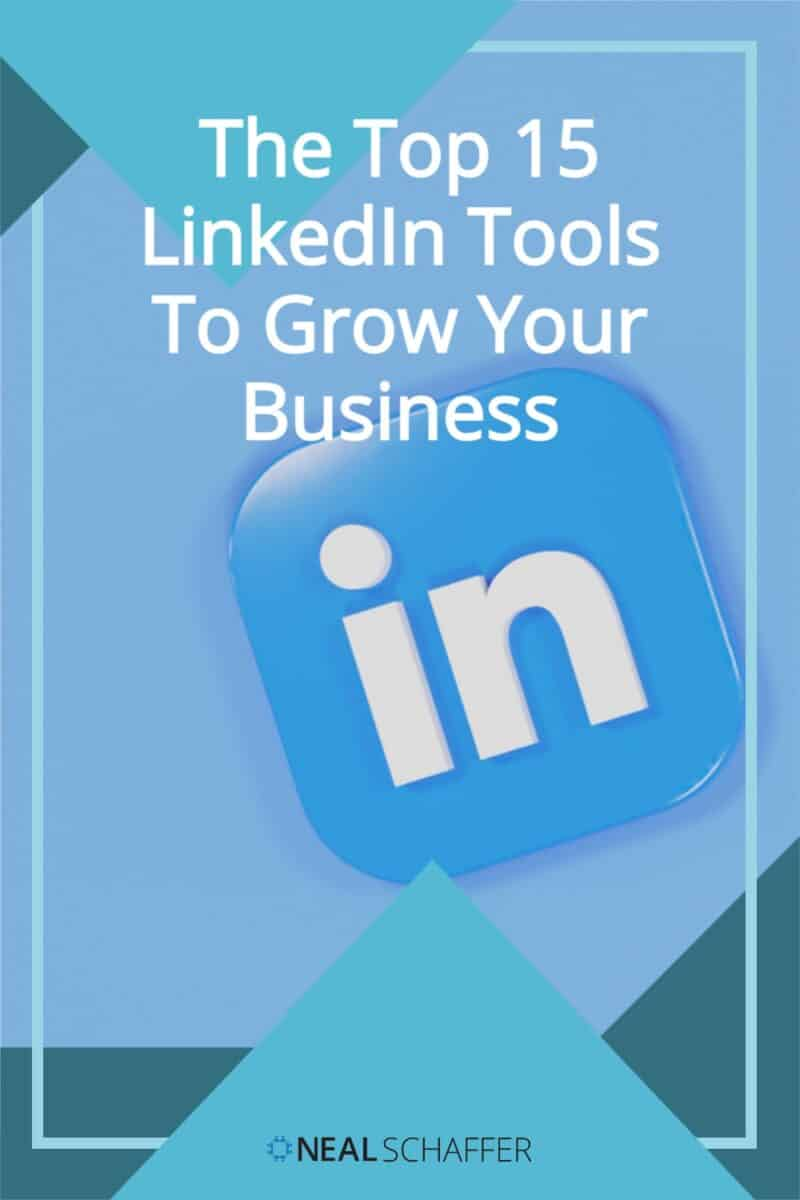"""Looking for LinkedIn tools to supercharge your sales & marketing on LinkedIn? Here are 15 """"secret"""" tools to help your social selling!"""